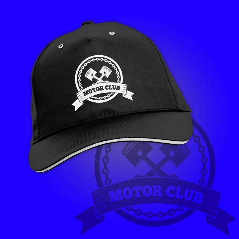 Cappello stampato motoclub