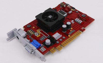 PowerBuild IRON HD Video Card by Brickthing on Flickr.