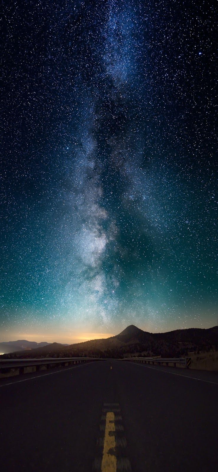 Starry Night Iphone X Starry Night Wallpaper Cellphone