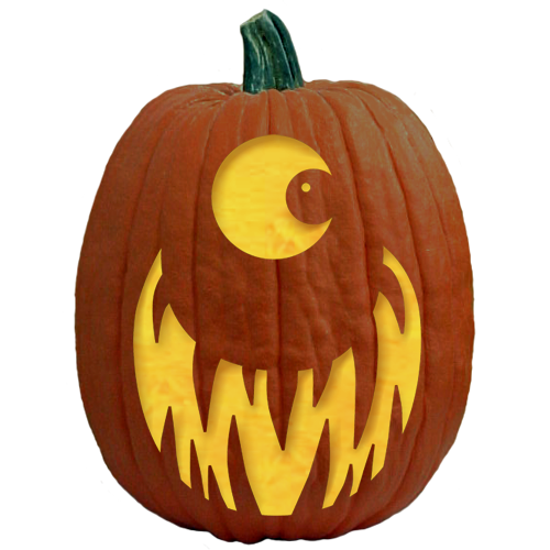 Just one of over 700 Free Pumpkin Carving Patterns, Pumpkin Carving ...