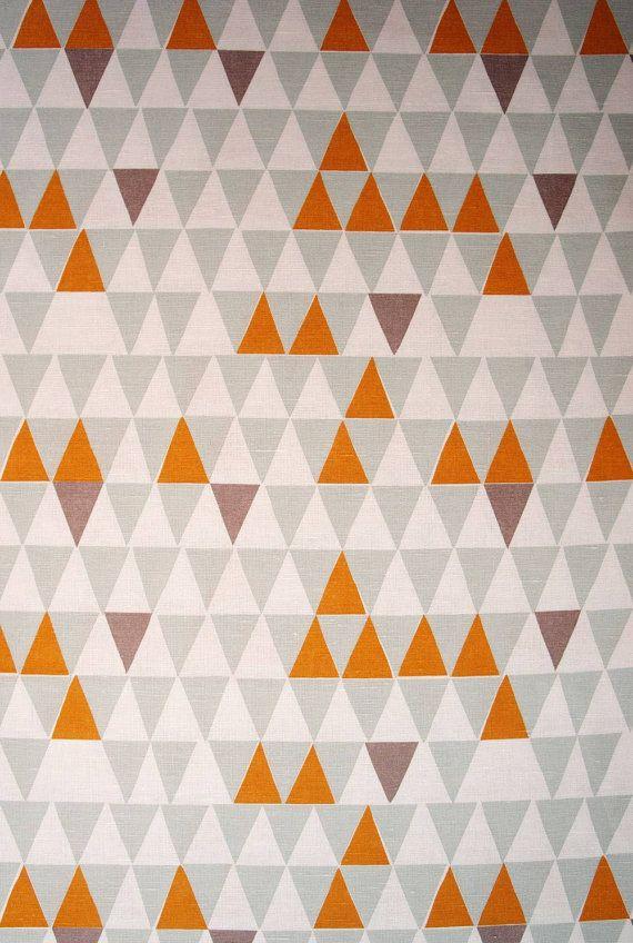 Skandinavische Stoffe spira jaffa linen fabric scandinavian triangle fabric triangle