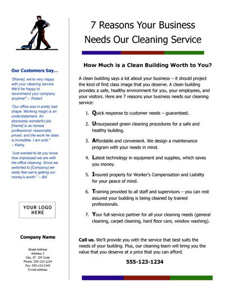 flyer1_largejpg 463599 cleaning business pinterest cleaning business business and cleaning contracts