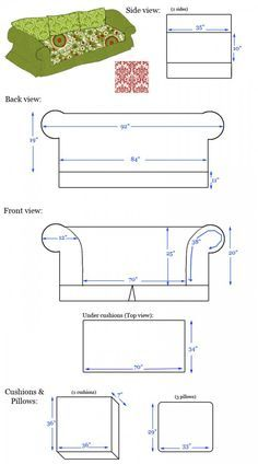 Delicieux How To Measure And Make Slip Covers For Your Couches. I Am Going To Sew
