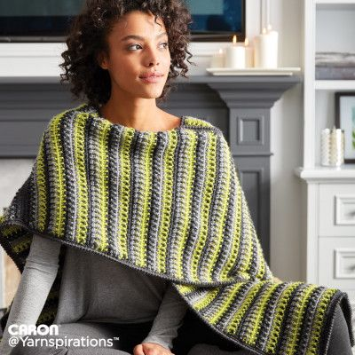 Free Easy Crochet Ruana Pattern Versatile And Easy To Crochet This