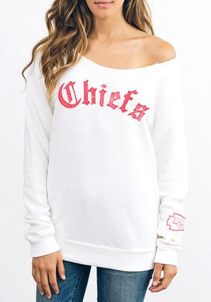 best loved 22b1b f0708 Junk Food Clothing Kansas City Chiefs Womens Champion Fleece ...