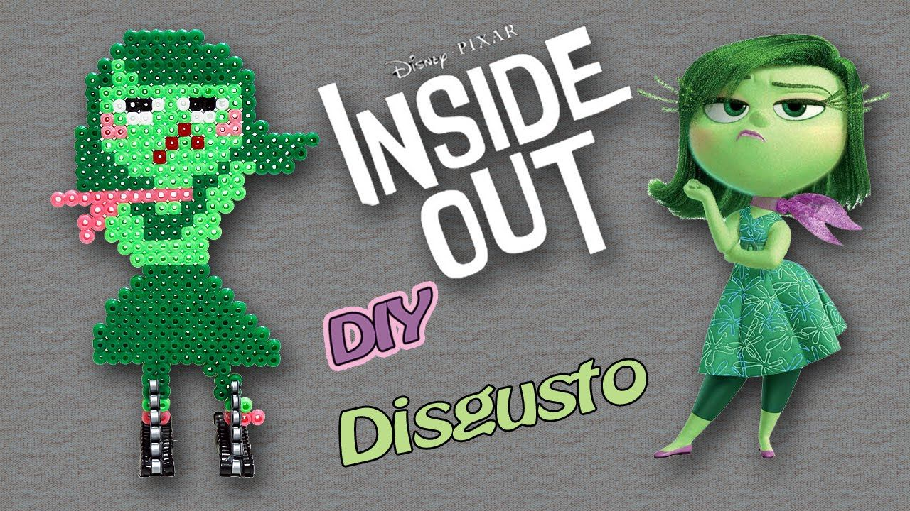 Disgusto di Inside Out con Hama Beads / Disgust Perler Beads Tutorial