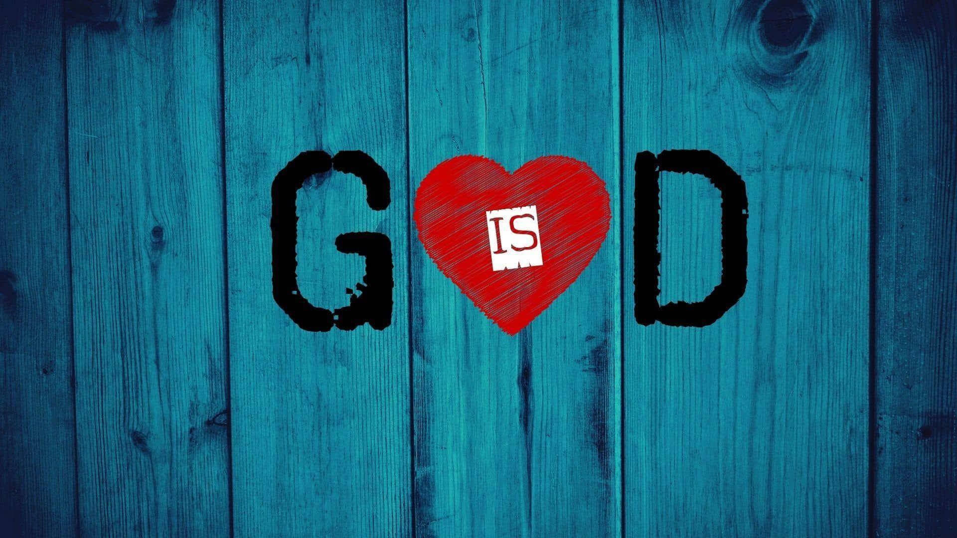 Pin On Gods House God is love wallpaper black