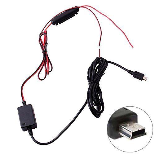niceEshop(TM) Kit D'installation Hardwire Tableau de Bord de Came Mini USB pour Garmin 10 20 30 35 Rexing V1 G1W Novatek A118: Atteindre 24…