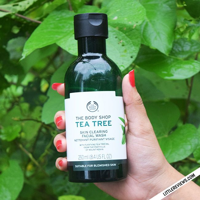 The Body Shop Tea Tree Skin Clearing Facial Wash Review Body