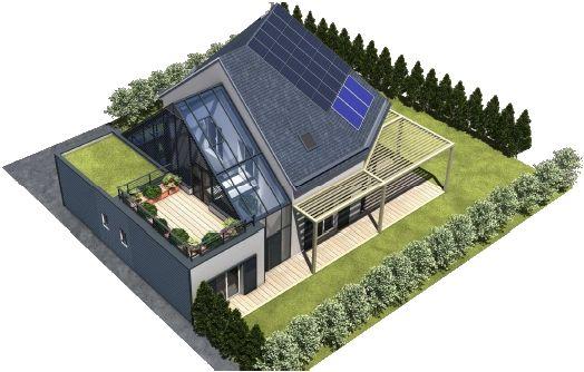 Casa sustentável - Casa Pro