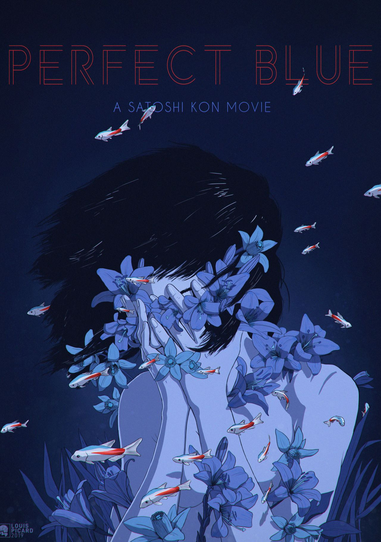 Hook and Ribbon Satoshi kon, Film posters art