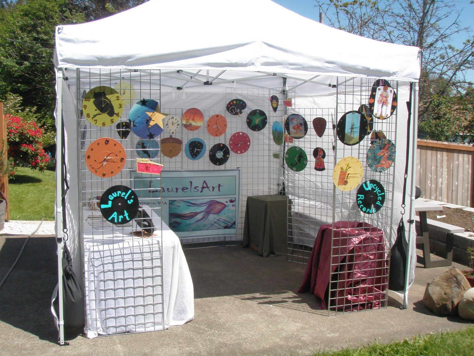 My Vendor Booth Spring 2011 Festivals Pinterest