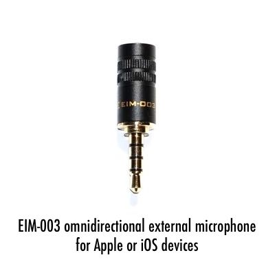 EIM-003 - Omnidirectional Microphone Offers Improved Sound