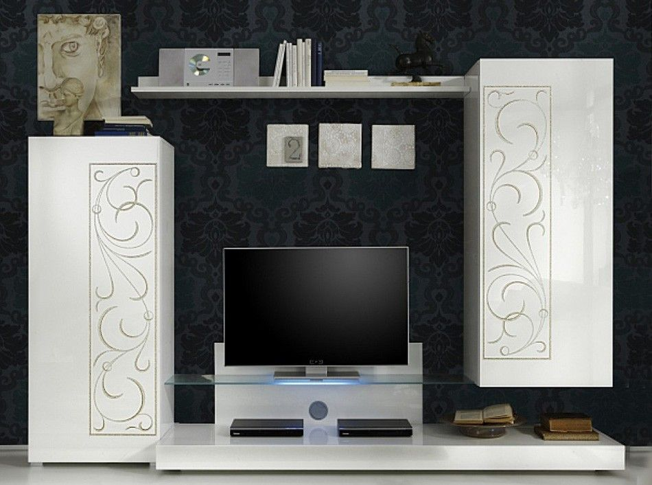 Modern Wall Unit Padua Composition 1 by LC Mobili - $1,125.00