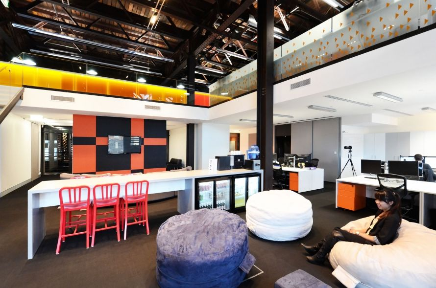 The offices of clickview also office tour pinterest rh
