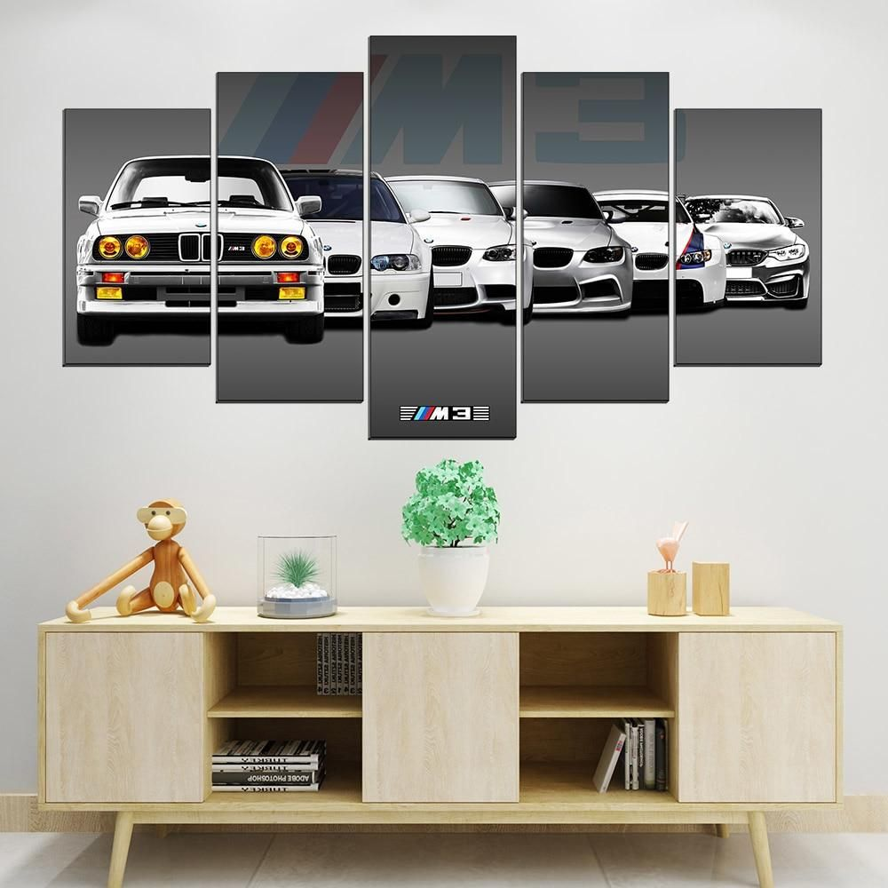 Aston Martin Sports Car Framed Giant CANVAS PRINT A0 A1 A2 A3 A4 Sizes