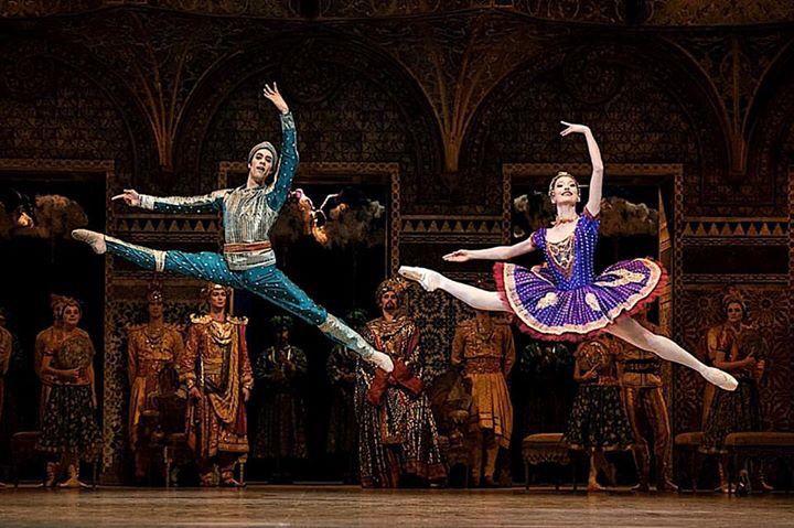 Mathias Heymann and Hannah O'Neill in La Bayadère, Paris Opera Ballet