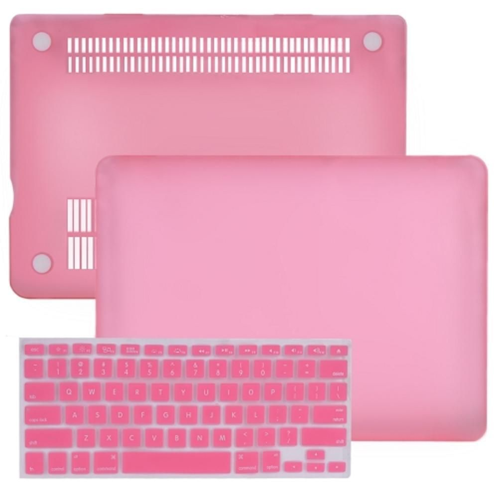 dab2fcf2d SlickBlue Rubberized Hard Case for 13 MacBook Pro w-Keyboard Cover (Baby  Pink)