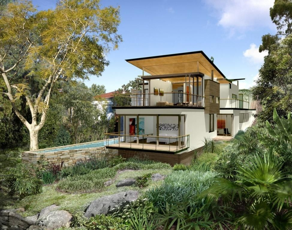 Cost of building on a sloping block | casa | Pinterest | House ideas ...