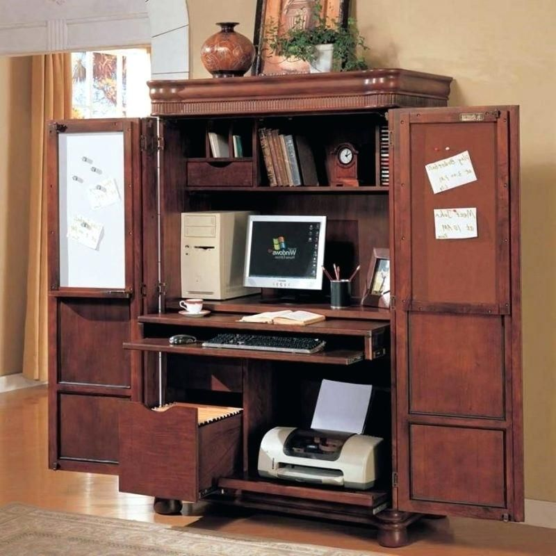 Corner Computer Armoire Small Uk Ikea Armoire Desk Computer Armoire Desk Furniture