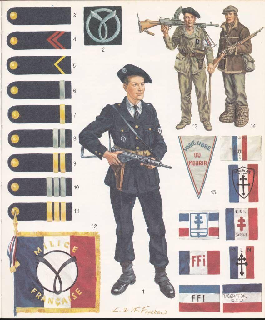 Vichy French Milice uniform? - OSW: One Sixth Warrior Forum
