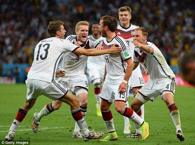 Germany 1 0 Argentina Gotze Scores World Cup Winner In Extra Time World Cup World Cup Teams Germany Football