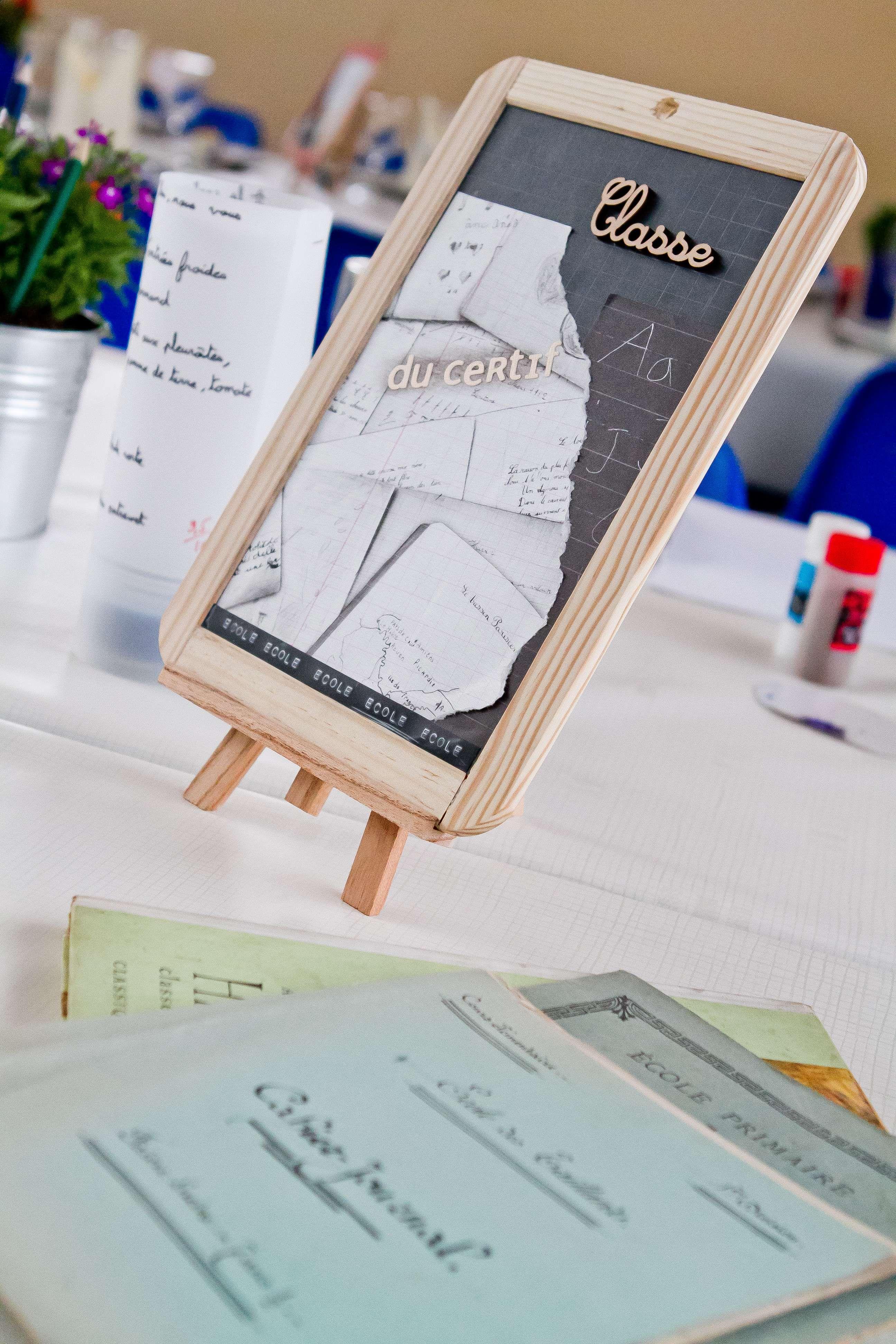 decoration de table ecole. Black Bedroom Furniture Sets. Home Design Ideas