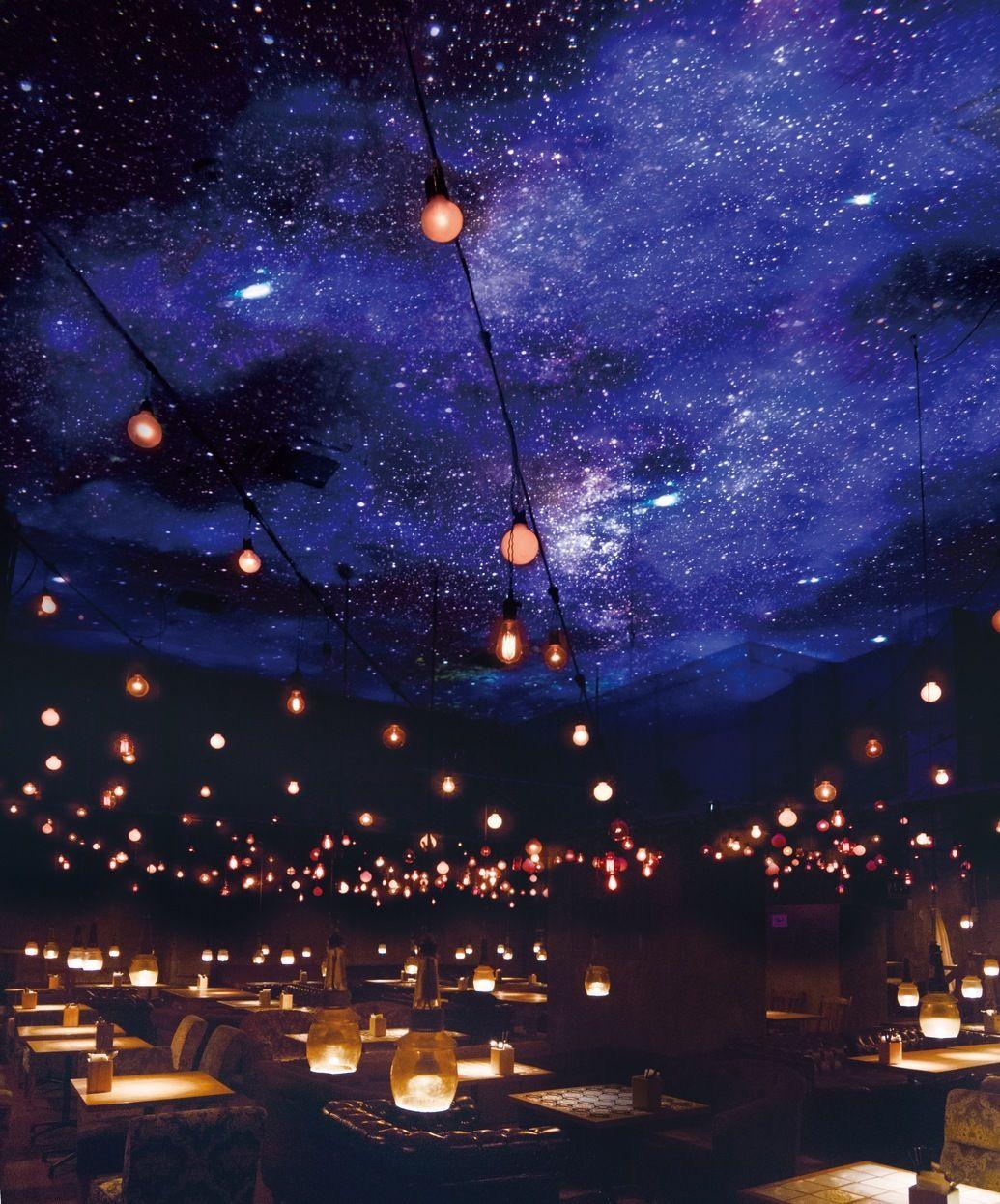 都内で美しい星空が楽しめる プラネタリウムカフェ バー 4選 画像