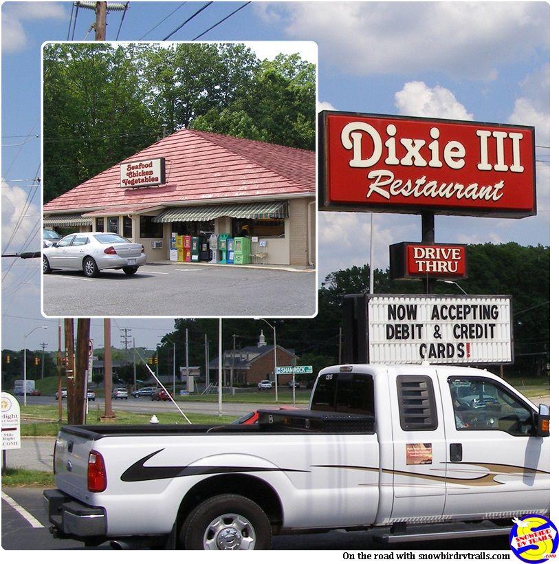 The Dixie Iii Restaurant Asheboro Nc Located Near Walmart It Is