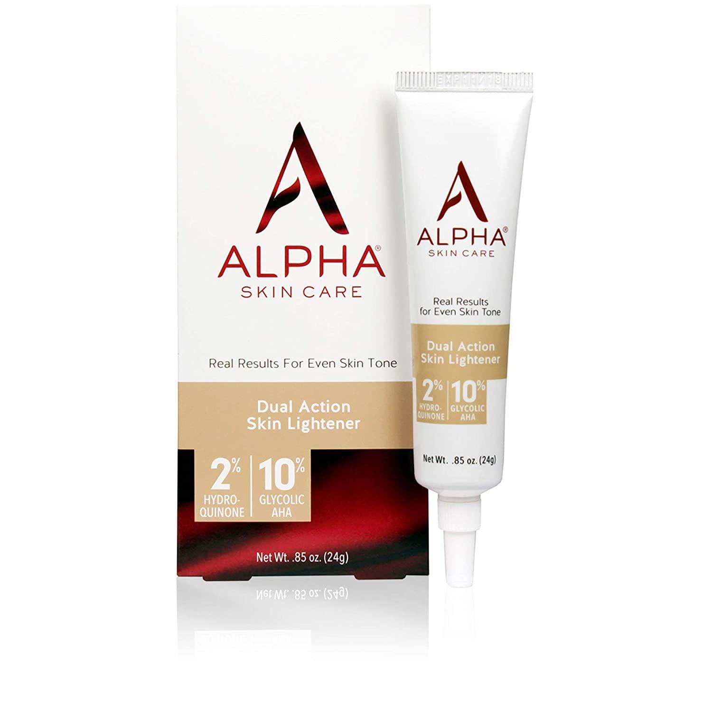 Alpha Skin Care Dual Action Skin Lightener Anti Aging Formula 2 Hydroquinone 10 Gycolic Aha D In 2020 Skin Lightener Anti Aging Formula Skin Lightening Cream