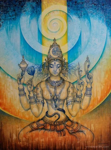 "Goddess Laxmi et Mata Saraswati avec Lord Ganesha Hindou Divinités 7/"" x 5/"" pouces"