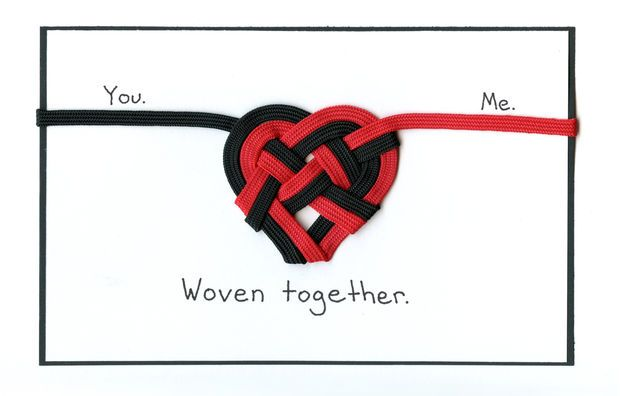 Picture of Woven together Valentine