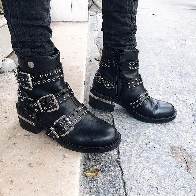 girls biker boots