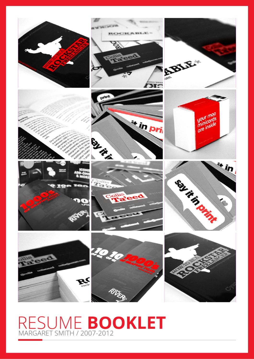 Resume booklet resume design pinterest booklet template resume booklet this is resume booklet template avalible for buy form graphicriver click maxwellsz