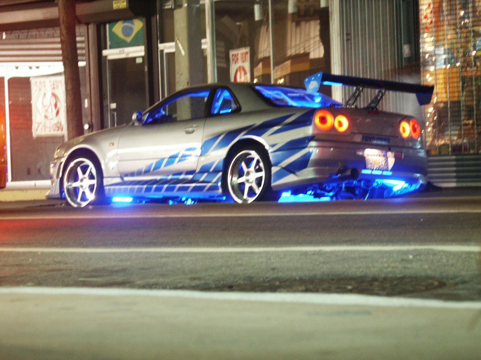 Nissan skyline gt r r34 fast furious 1999