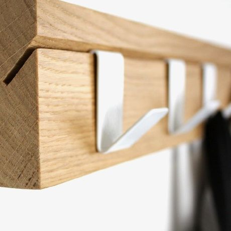45 coat rack oak alt image one rack hanger pinterest coat racks alt and woodworking. Black Bedroom Furniture Sets. Home Design Ideas