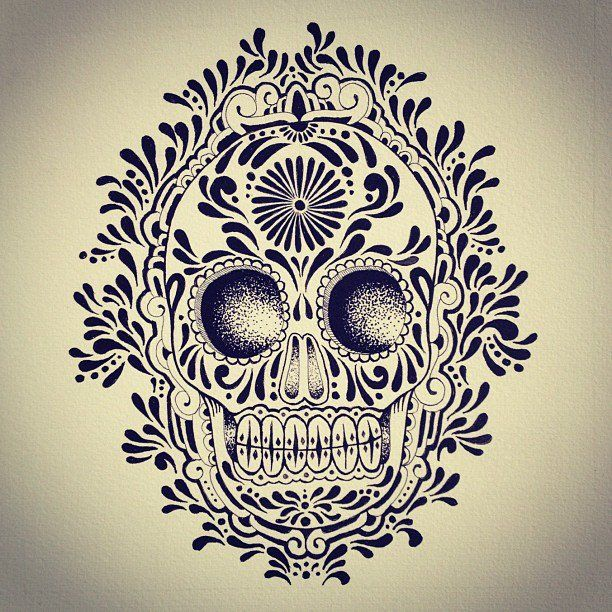 Infierno skull