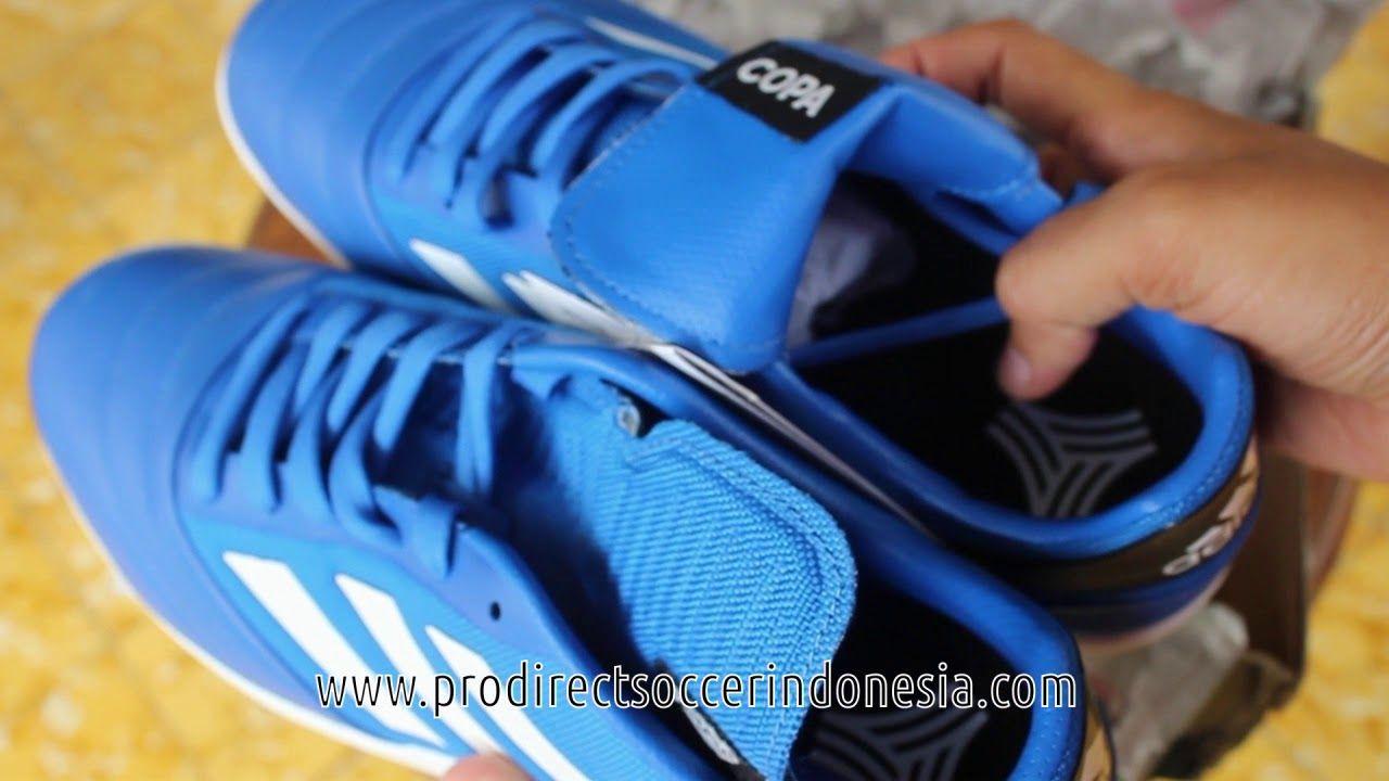 Sepatu Futsal Adidas Copa Tango 17 2 Tr Blue Ba8532 Original