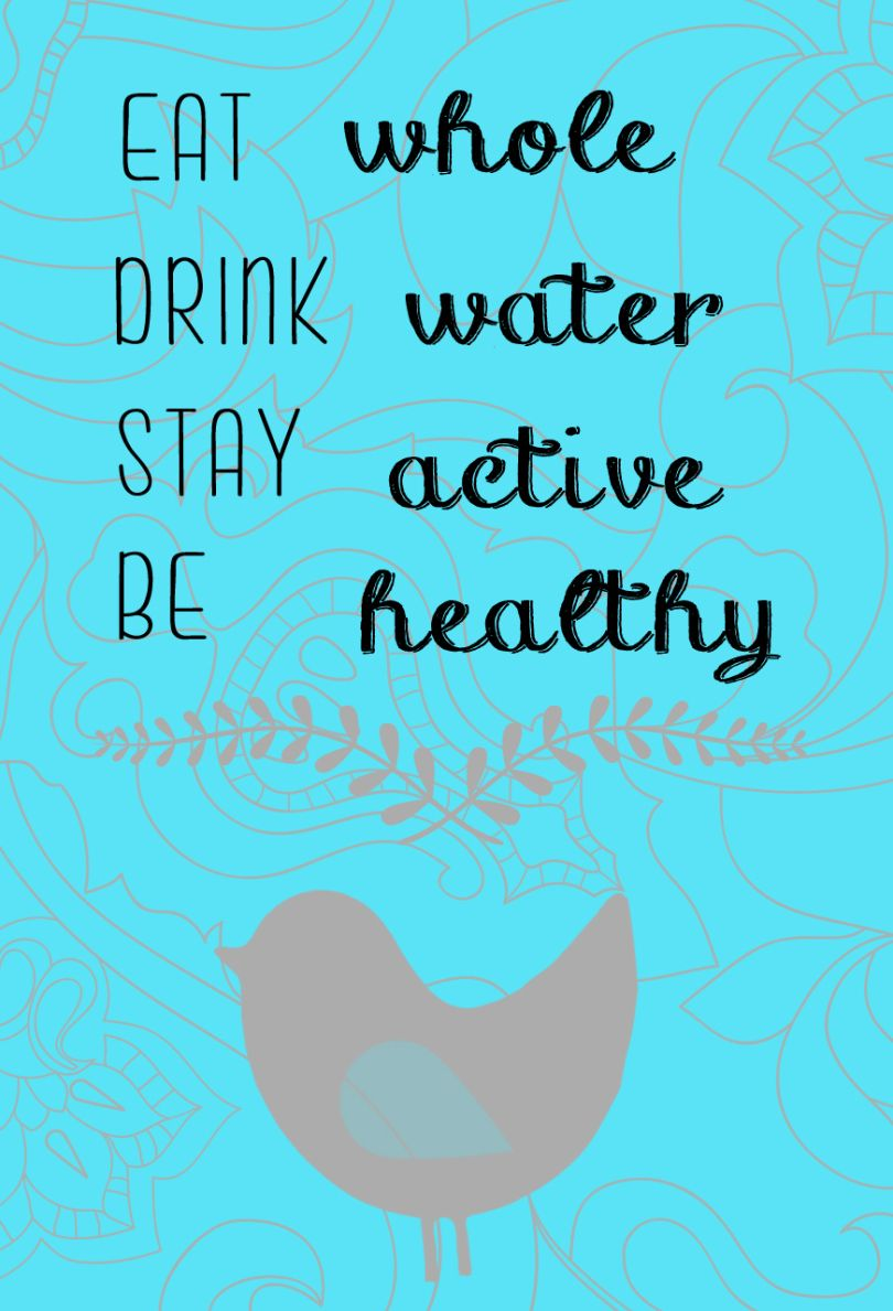 Water Quotes Stunning Eat Whole Drink Water Quote  Detox  Pinterest  Drink Water Quotes