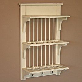 Shabby Chic Wall Mounted Plate Rack Amazon.co.uk Kitchen \u0026 Home & Shabby Chic Wall Mounted Plate Rack: Amazon.co.uk: Kitchen \u0026 Home ...