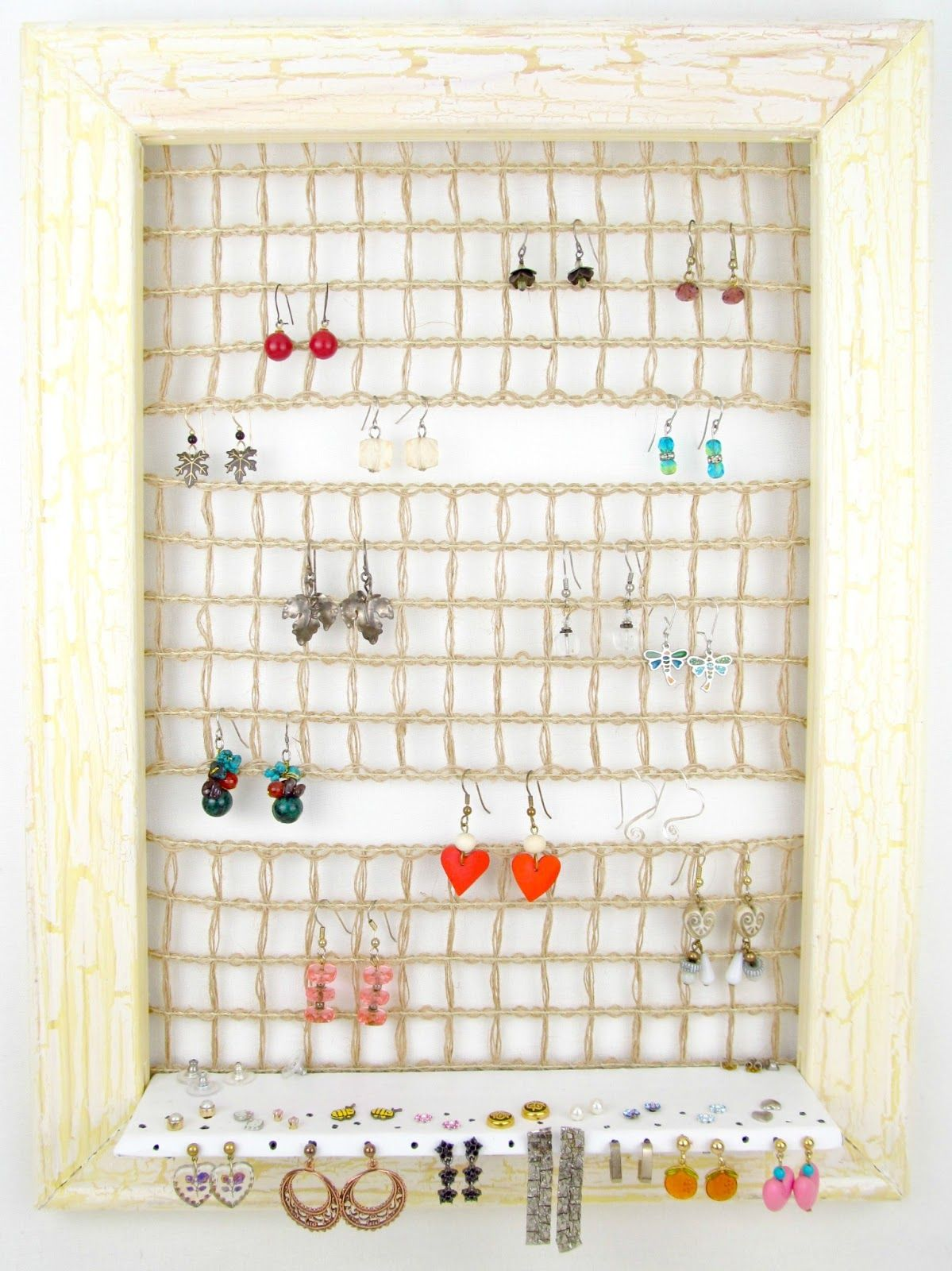 Wall Hanging Jewelry Holder Hanging Jewelry Wall Hanging Diy