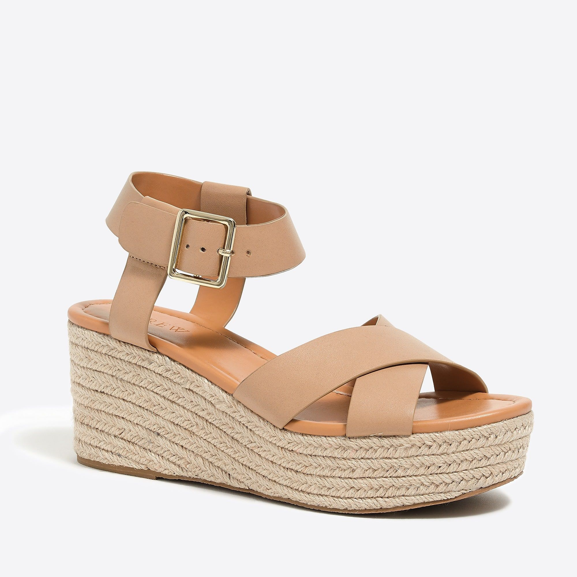 4796f772267 J.Crew Flatform espadrille sandals in 2019 | IN love with ...