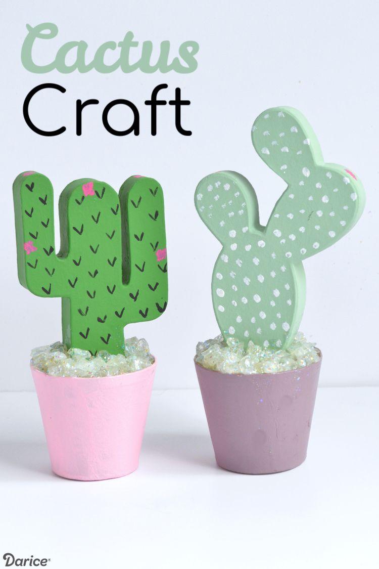 Diy Cactus Paper Mache Craft Quick And Easy Tutorial