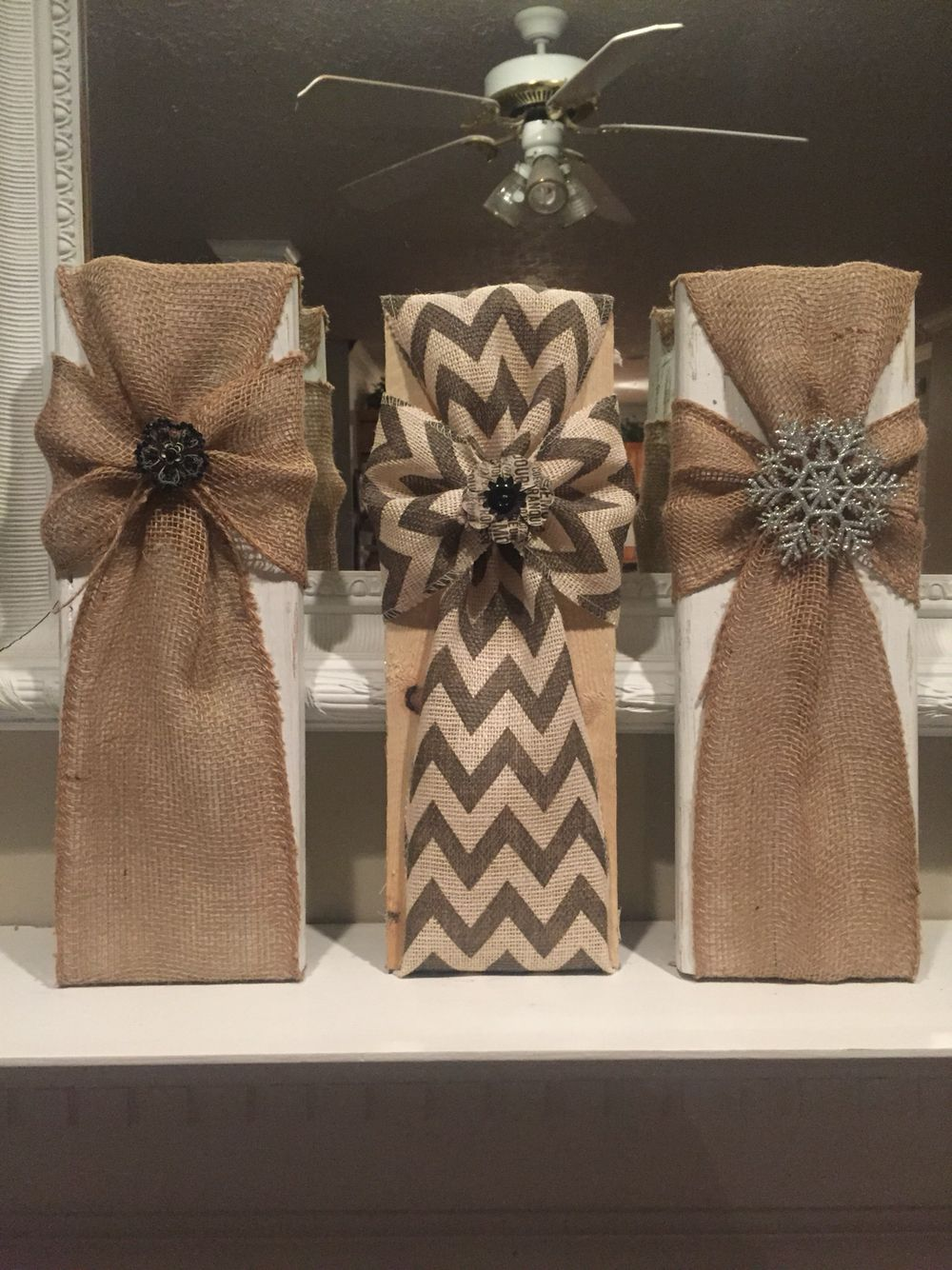 Burlap crosses pinteres for Burlap ribbon craft ideas