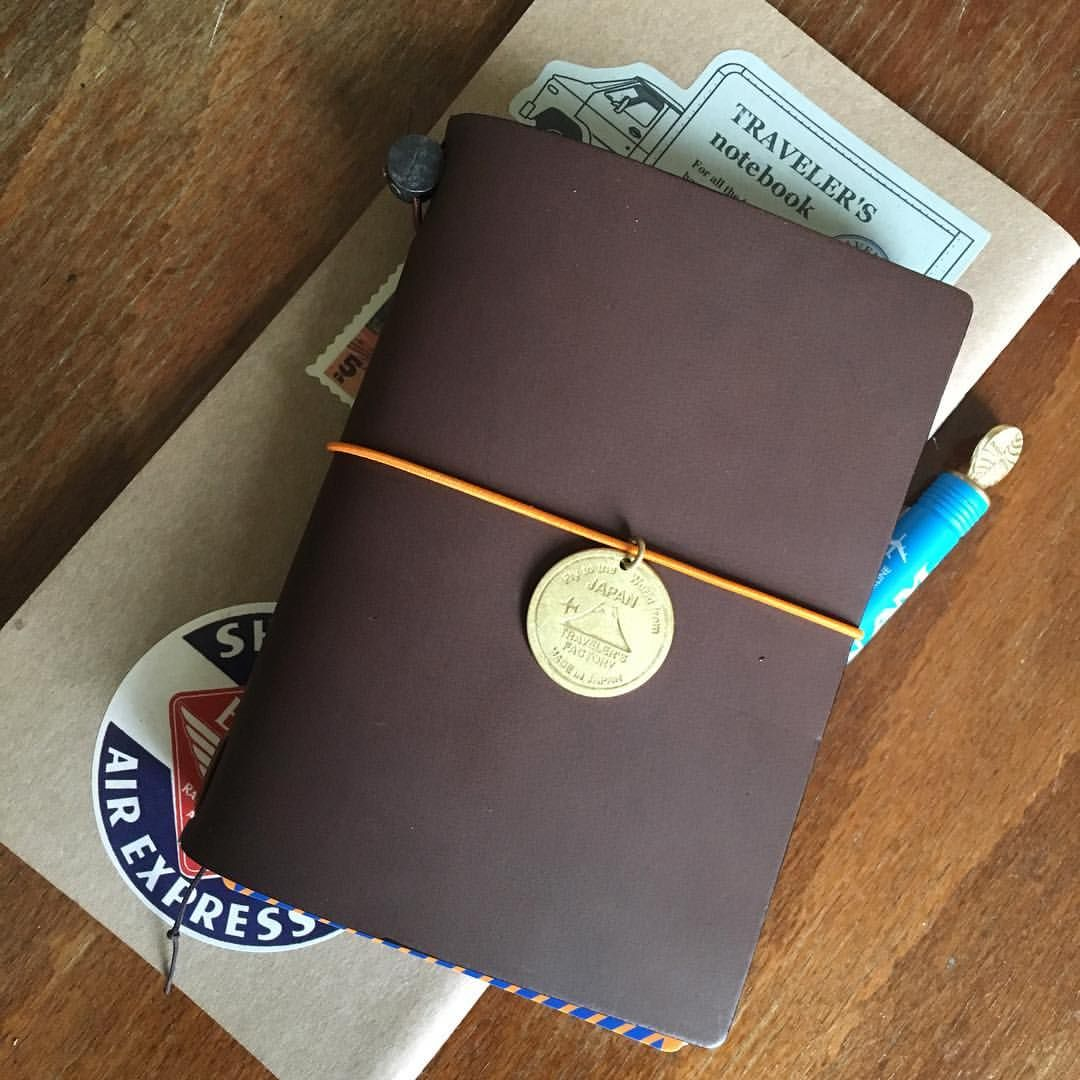 The Passport size Traveler's Notebook: my passport for the journey of life.