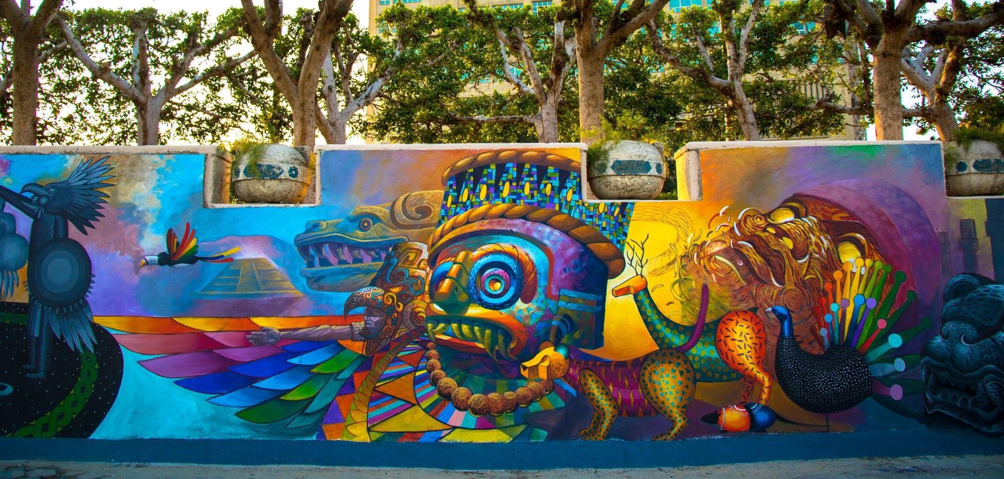 Street Art Mexicano Mural Urbano Graffiti De Arte Callejero