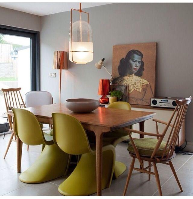 Deko Design, Küche Esszimmer, Wandfarbe, Haus Ideen, Inneneinrichtung,  Klassisch, Raum, Rund Ums Haus, Dekoration