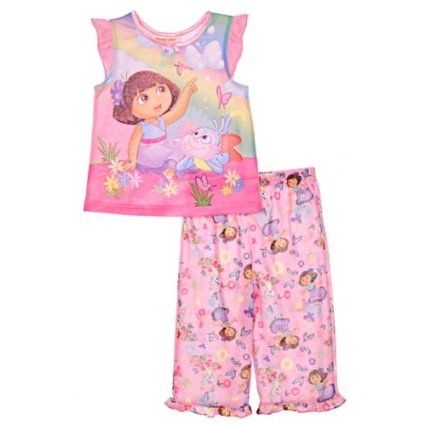 NEW DORA THE EXPLORER PRETTY BALLERINA GOWN PAJAMA  Size 2T