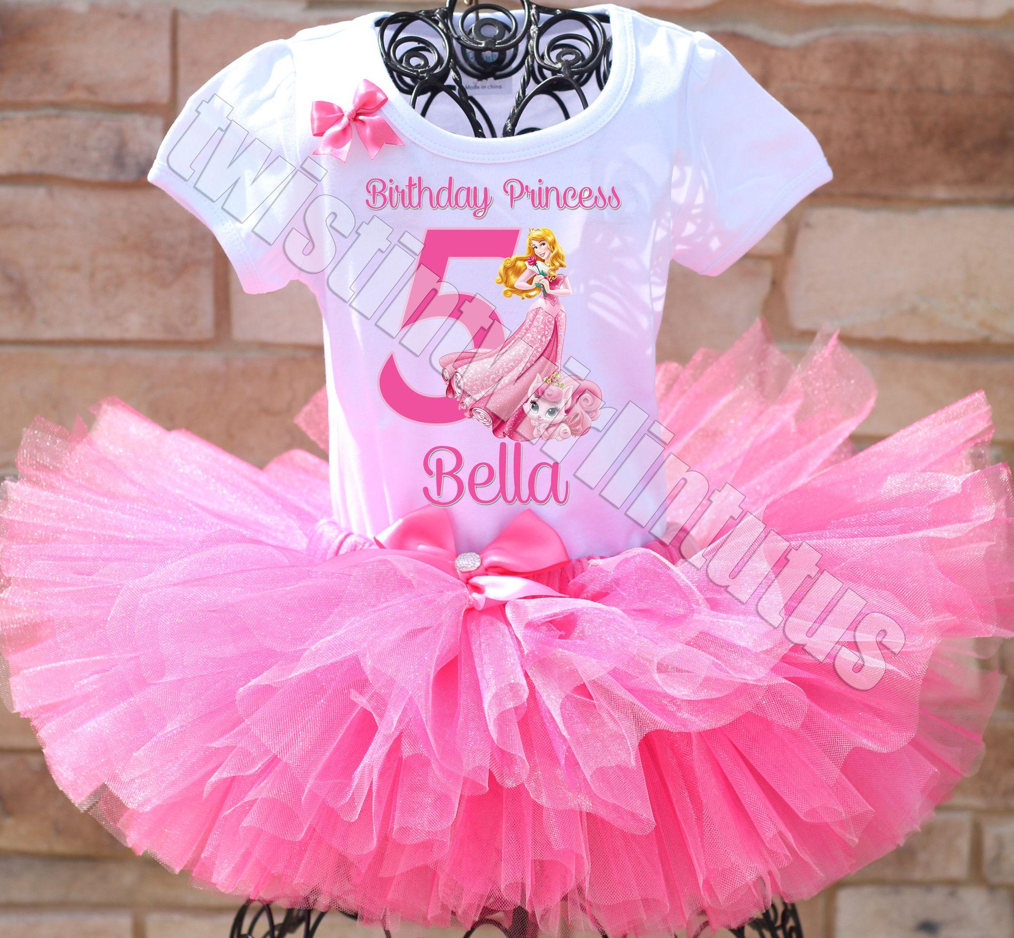 Princess Aurora Birthday Tutu Outfit