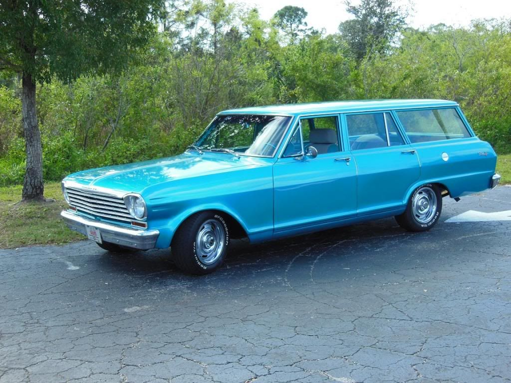 Chevy Nova Station Wagon 1963 Chevrolet Nova Station Wagon From